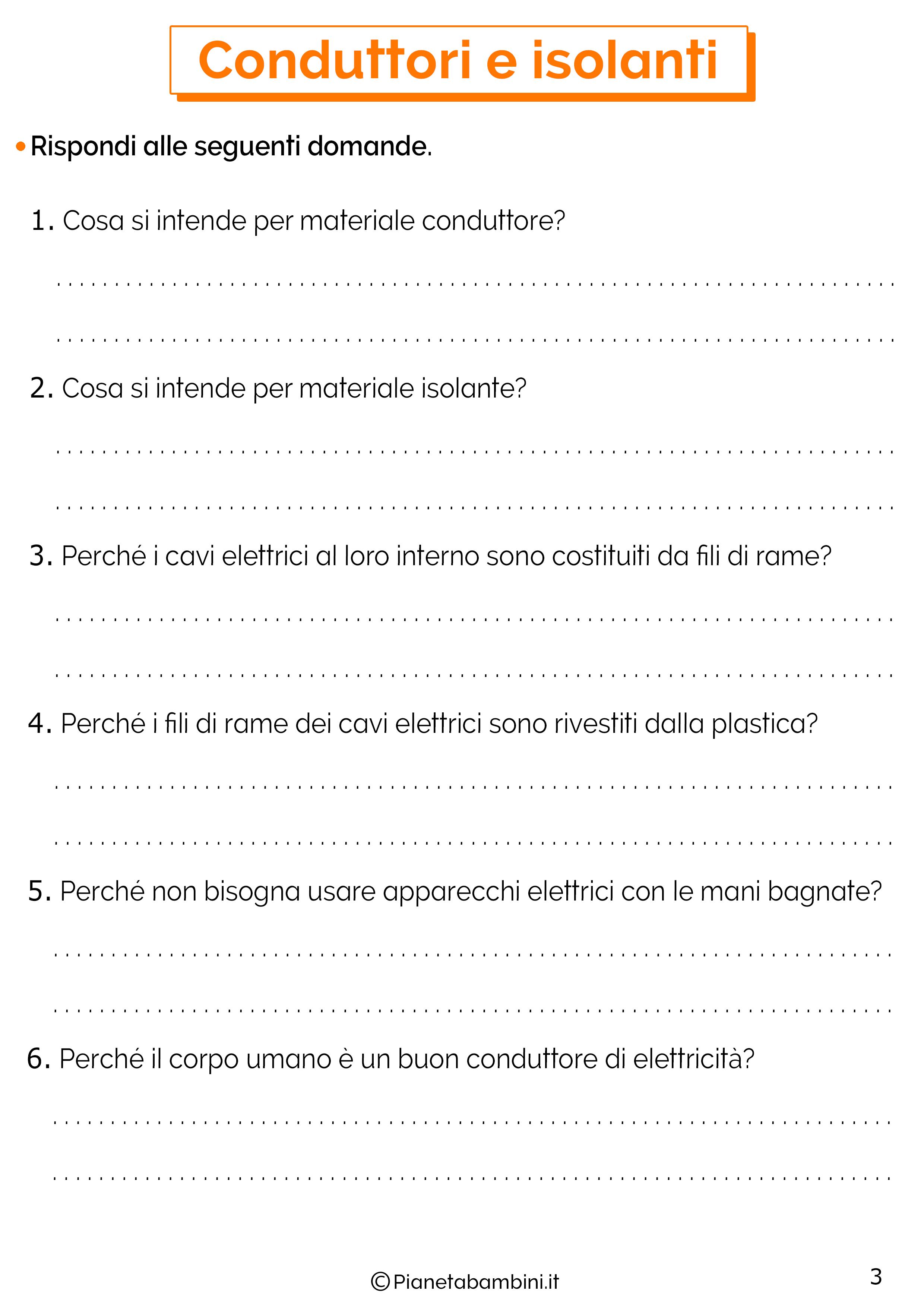 Esercizi su conduttori e isolanti 3