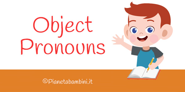 Esercizi sui pronomi oggetto in inglese