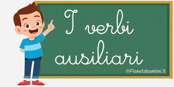 Esercizi sui verbi ausiliari