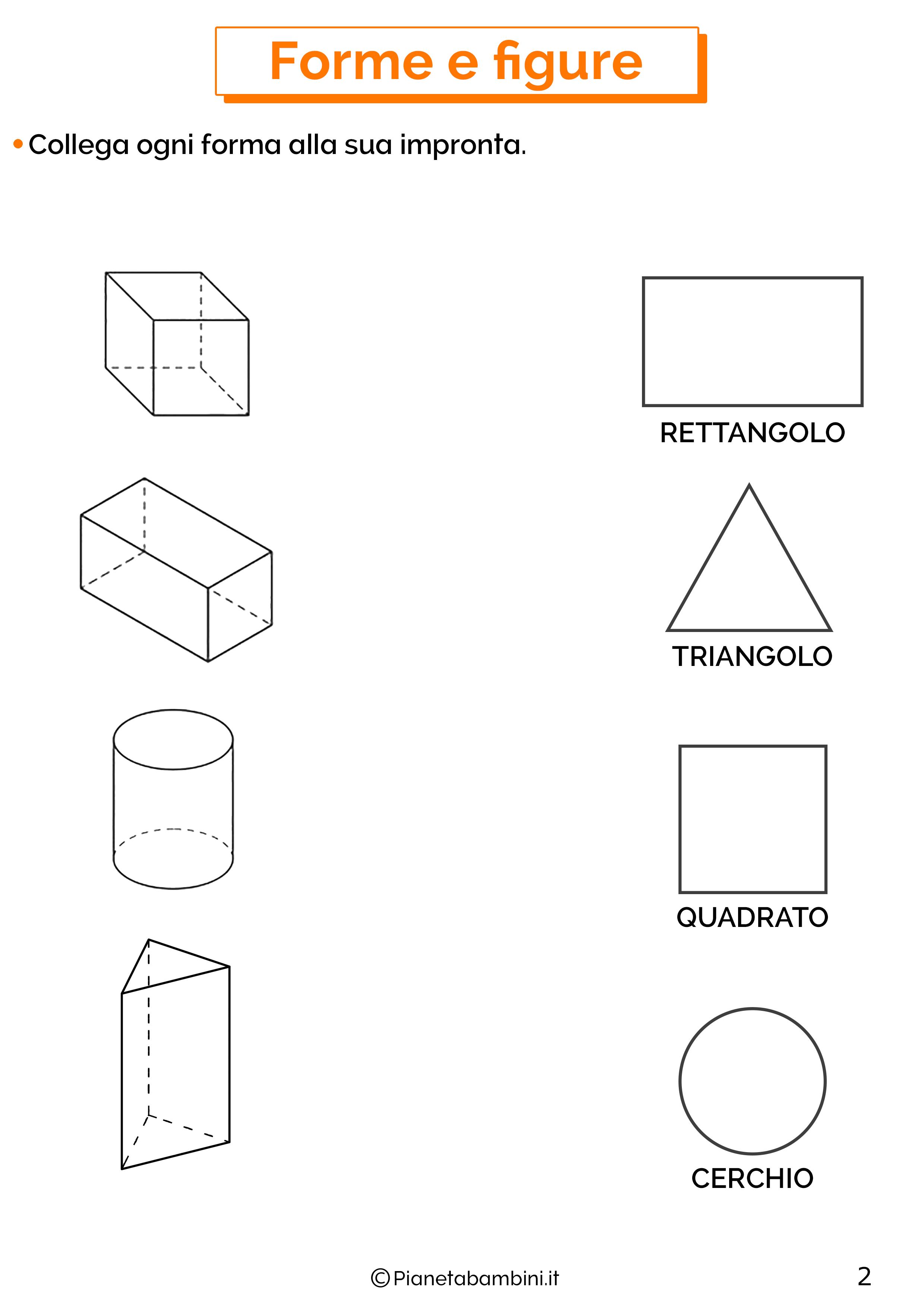 Esercizi su forme e figure 2