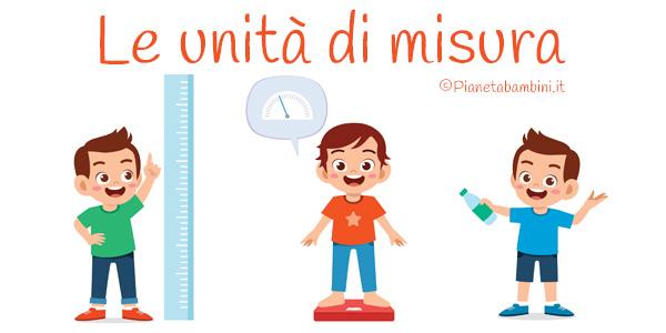 Esercizi sulle unità di misura per bambini