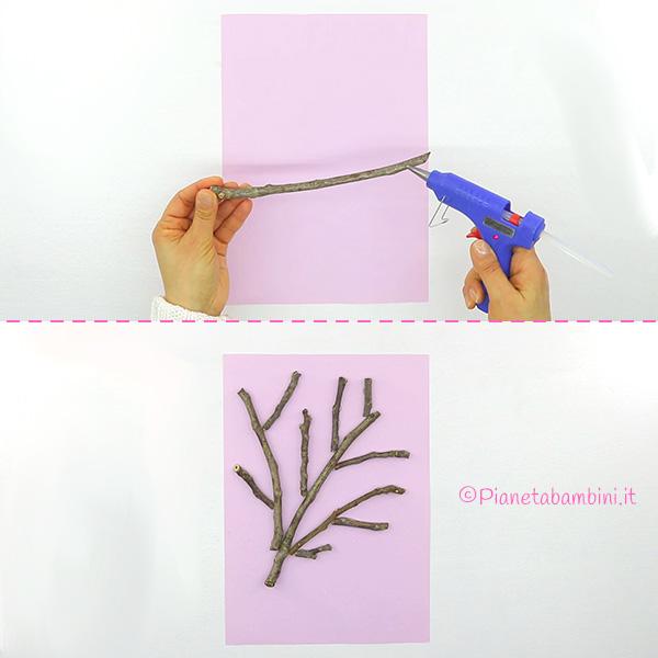 Come costruire l'albero primaverile con rametti e popcorn