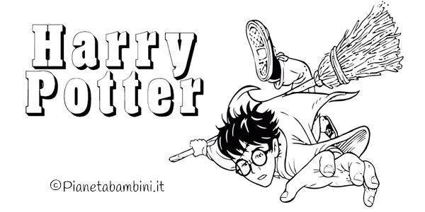 Disegni di Harry Potter da stampare e colorare