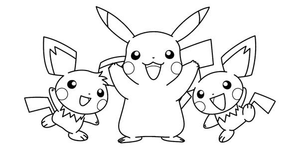 Disegni dei Pokémon da stampare