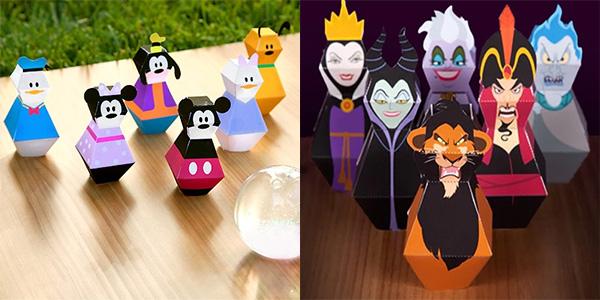 Personaggi della Disney tridimensionali