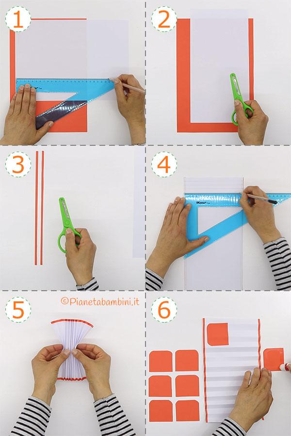 Come creare ventagli di carta fai da te