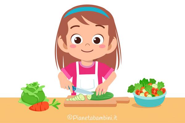 La magia della chimica in cucina con frutta e verdura