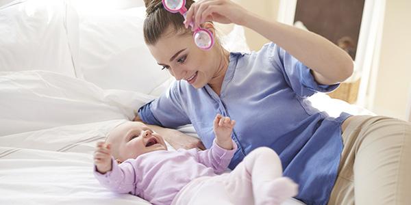 Gioco dei colori per neonati