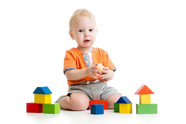 Gioco delle costruzioni per bambini