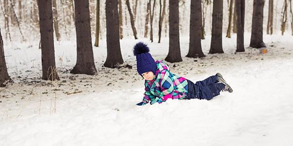 Gioco della neve per bambini
