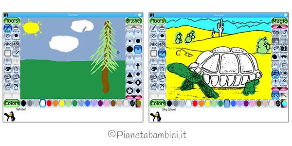 Software di disegno per bambini
