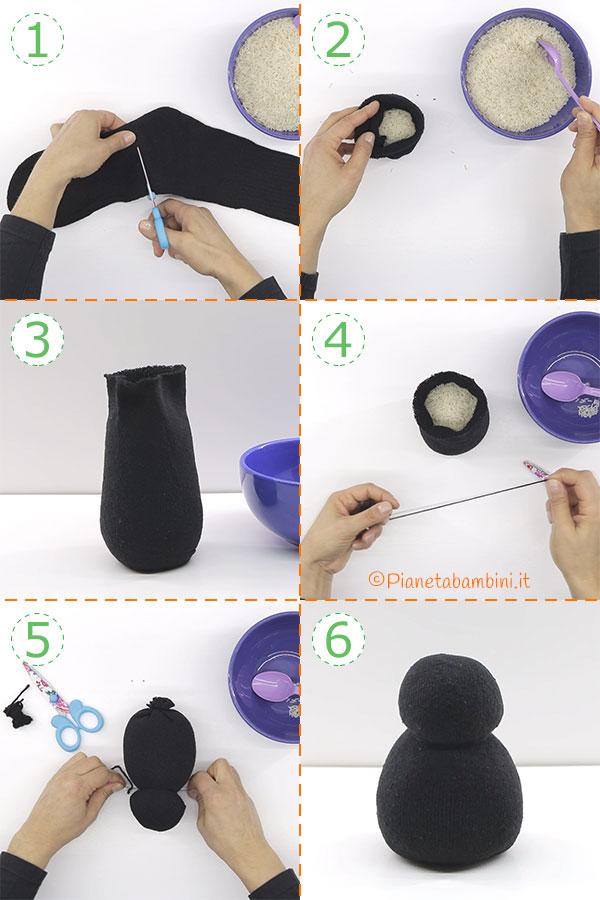 Come creare il gatto nero di Halloween